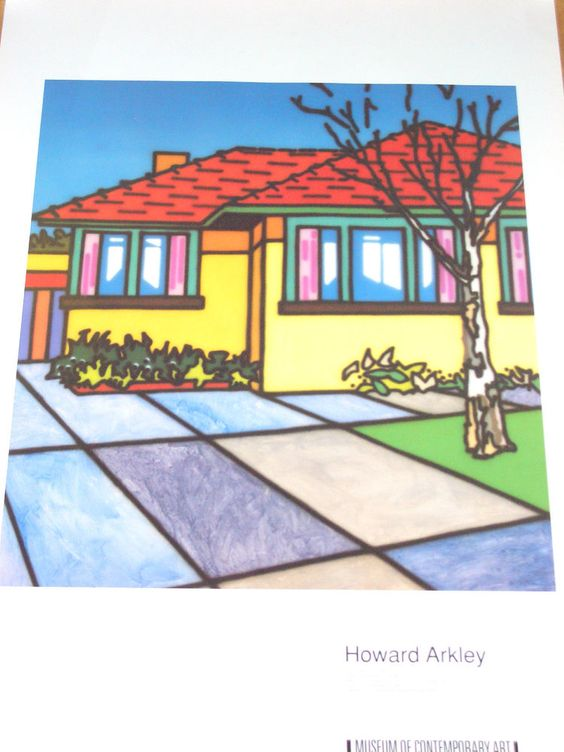 HOWARD ARKLEY - WELL SITUATED HOME 1991 - MCA SYDNEY - NOW SCARCE in Art, Prints | eBay