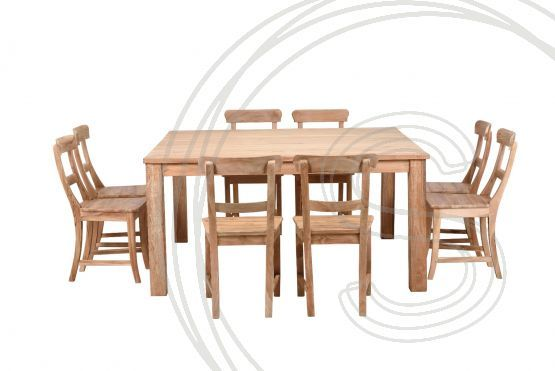 Indoor Teak Dining Room Set