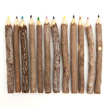 Poketo Reclaimed Branch #Colored #Pencils outdoor... | Wicker Blog  wickerparadise.com