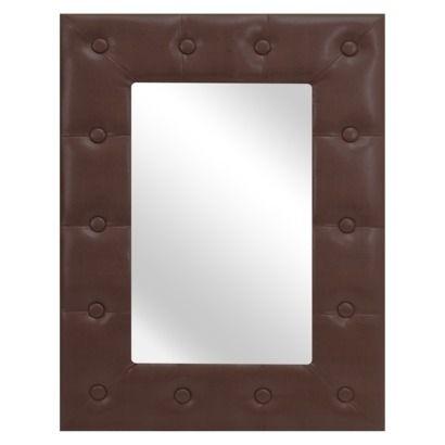 """LumiSource Serpent Mirror Small - Brown 16x24"""""""