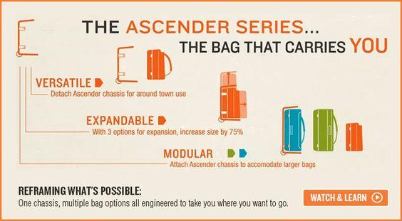 Kelty Ascender Travel Series