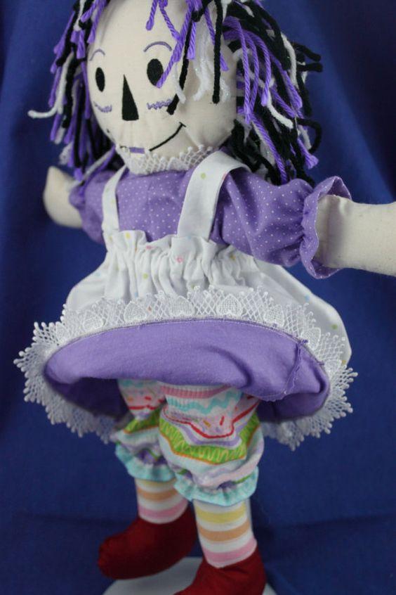 Custom created Raggedy-Anne/Andy style doll - basic
