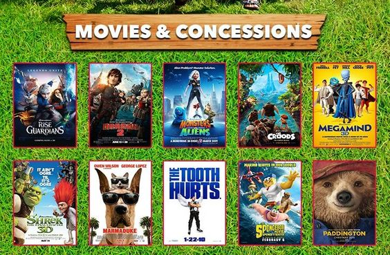 summer kids movies at Chambersburg mall