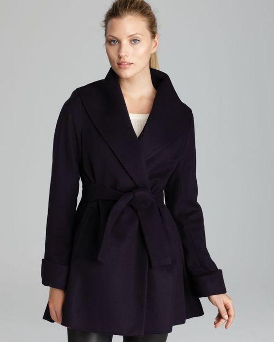 Trina Turk Coat - Ali Wrap | Bloomingdale's