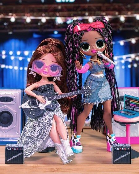Lonestar Is Celebrating Internationalcountymusicday With Her Bff Remixing Her Twangy Tracks With Honeylicious Hip Harmonies Lol Dolls Lol Lovely Girl Image