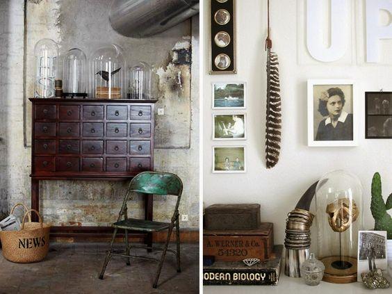 Virlova Interiorismo: [Deco] Fanales decorativos: glass cloches