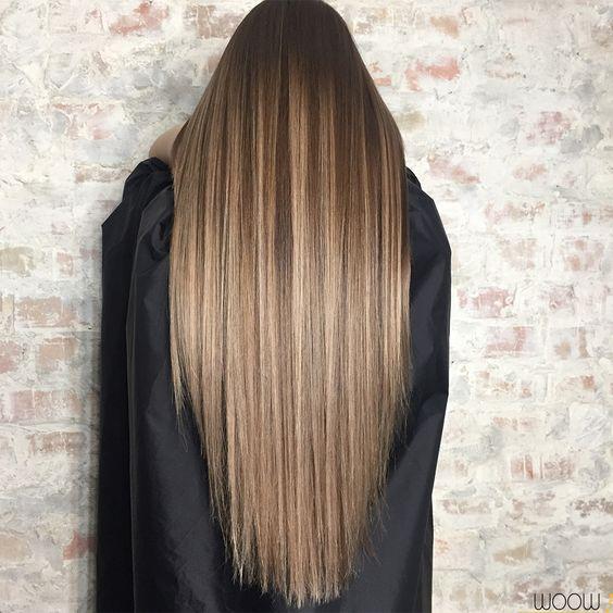 Брондировние волос.