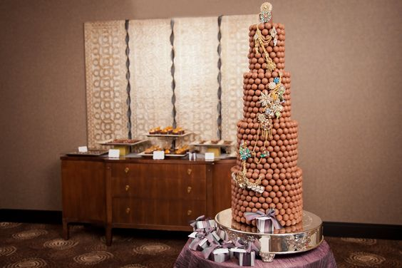 Truffle Tower     This cake alternative seems to be inspired by the…
