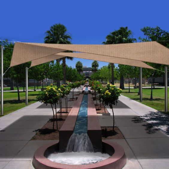 Click for updated price and info large square for Shade sail cost