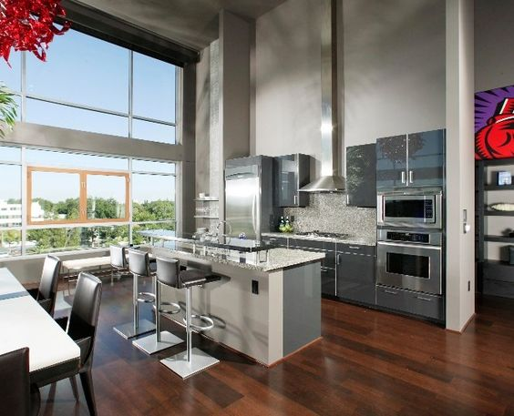 Andromeda's Nastro collection @L Street Lofts - Kitchen ...