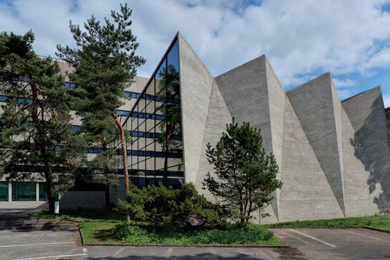 General Trade School, Basel Switzerland (1961) | Hermann Baur