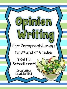 Essay on school lunches