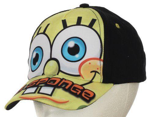 Nickelodeon Spongebob Squarepants Baseball Cap Kids 3-5 Years @ niftywarehouse.com #NiftyWarehouse #Spongebob #SpongebobSquarepants #Cartoon #TV #Show