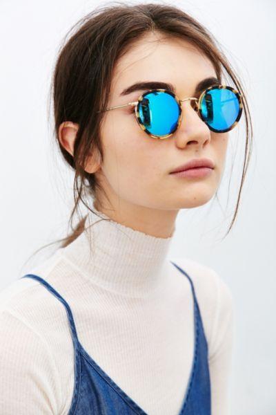 KYME Matti Round Sunglasses - Urban Outfitters: