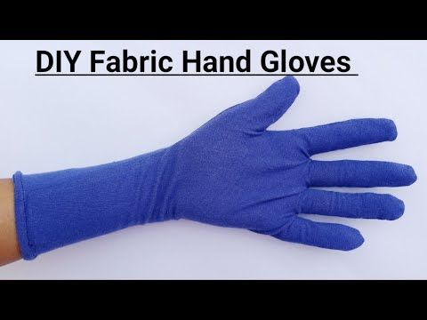 How To Make Reusable Hand Gloves From Cloth Diy How To Make Gloves At Home Outdoor Hand Safety Youtube In 2021 Gloves Diy Gloves Hand Gloves