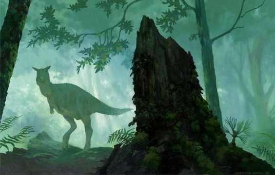 """Dinosaur"" Artwork - Walt Disney Pictures"