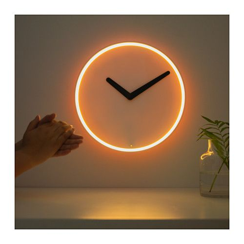 IKEA STOLPA Wall clock | Wanduhr ikea, Wanduhren wohnzimmer ...