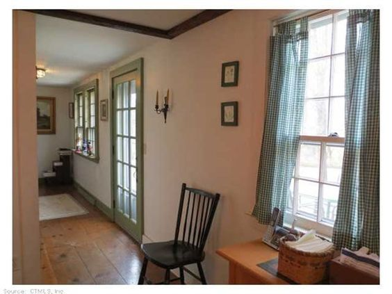 "Open House: Sunday, June 28, 2015 12:00 PM - 2:00 PM 1021 Old Field Rd, Southbury, CT 06488 — Historical home set back off road, know as the ""Methodist Parsonage Lot"" impeccably maintained. Chestnut floors, 3 large bedrooms each with own bath. Custom kitchen cabinets hand crafted by a wood worker. Addition added in 1940, do not miss the workshop under main garage with additional 528sf. Gas and city water lines accessible. Back lot 2.15 ac being sold with the property.- Total 3.25Ac."