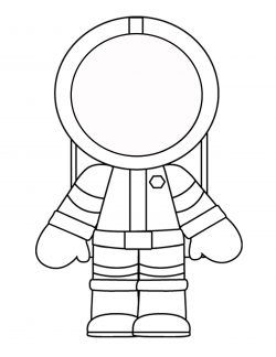 Astronot Boyama Sayfasi Elisi Kosesi Astronot Uzay Mekigi