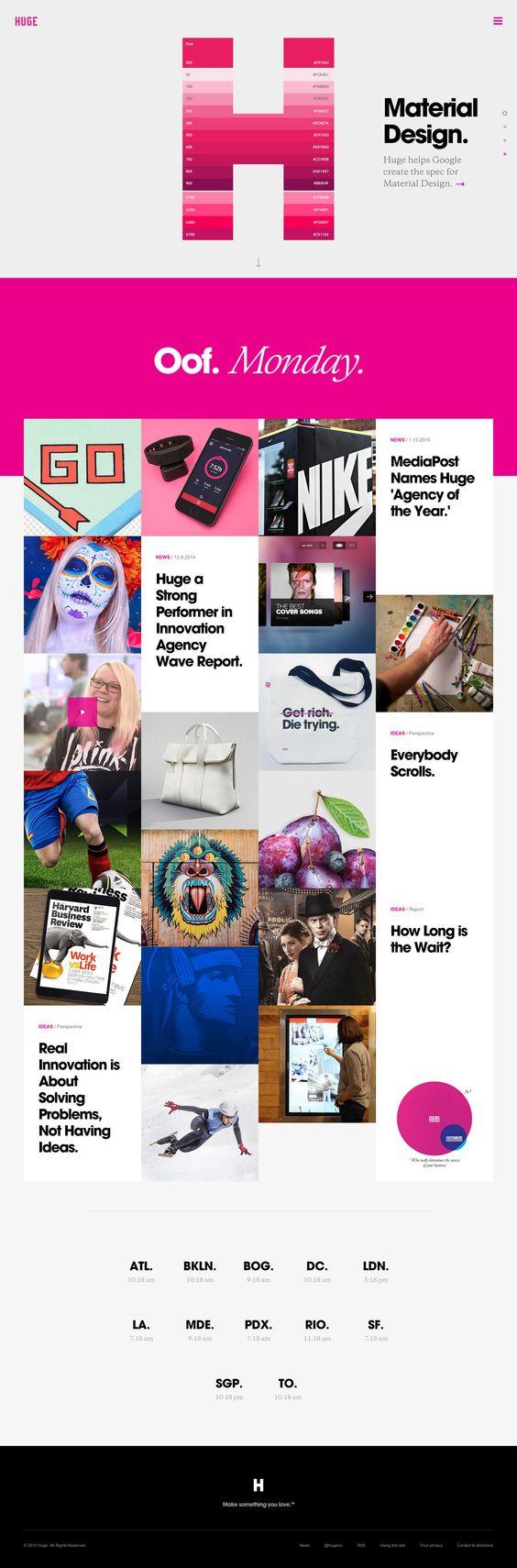 Great marketing websites