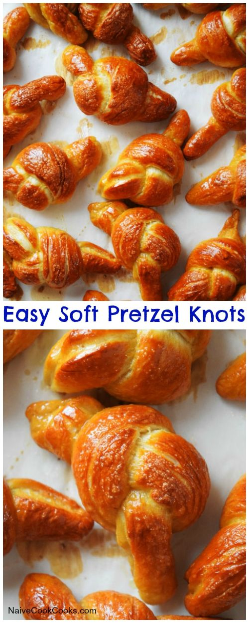 Mustard Soft Pretzels From 'Salty Snacks' Recipe — Dishmaps