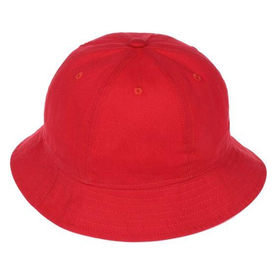 Bucket Hat Vintage Unisex Red Blue Outdoor Hunting Fishing Cap Cotton Goldtop #Goldtop #Bucket