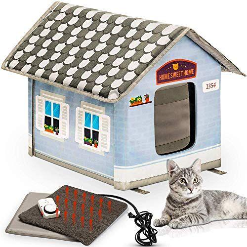 10 Best Heated Cat Houses Heated Cat House Heated Outdoor Cat House Outdoor Cat House
