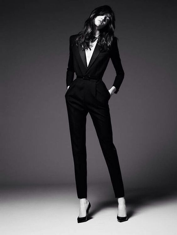 men need GA, women need YSL #SaintLaurent #suits                                                                                                                                                     More