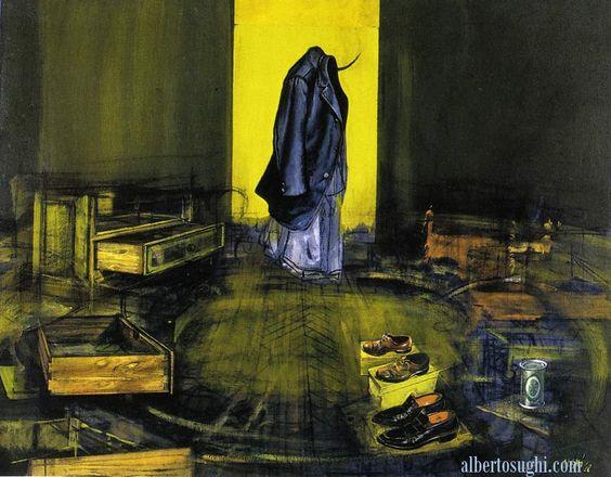 La stanza di un uomo - Alberto Sughi, 1968