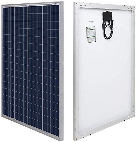 New Hqst 100 Watt 12 Volt Polycrystalline Solar Panel Solar Connectors High Efficiency Module Pv Power Battery Charging Boat Caravan Rv Any Other Off Grid Applications Online Shopping In 2020 Solar