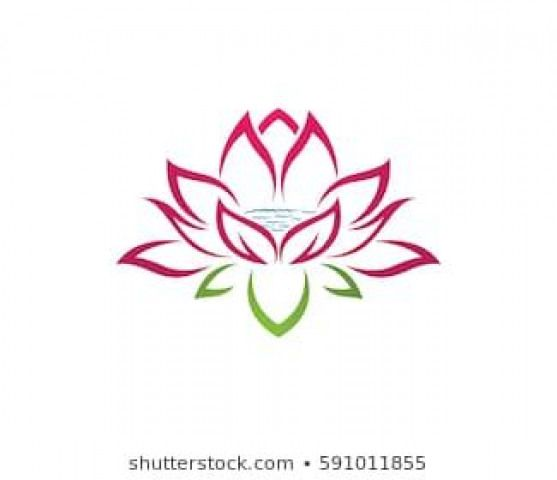 Beauty Vector Lotus Flowers Design Logo Template Icon Flowers Flowers Logo Lotus Flower Art Flower Logo Design Lotus Flower Logo