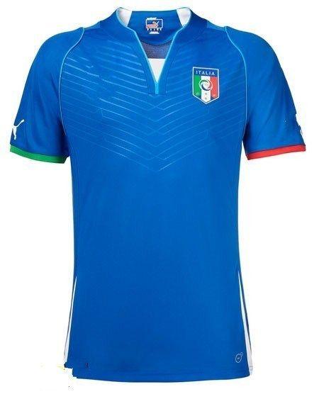 Italy Home soccer jerseys, Italian Soccer T-Shirts, T-Shirts, Italy football shirts 2013