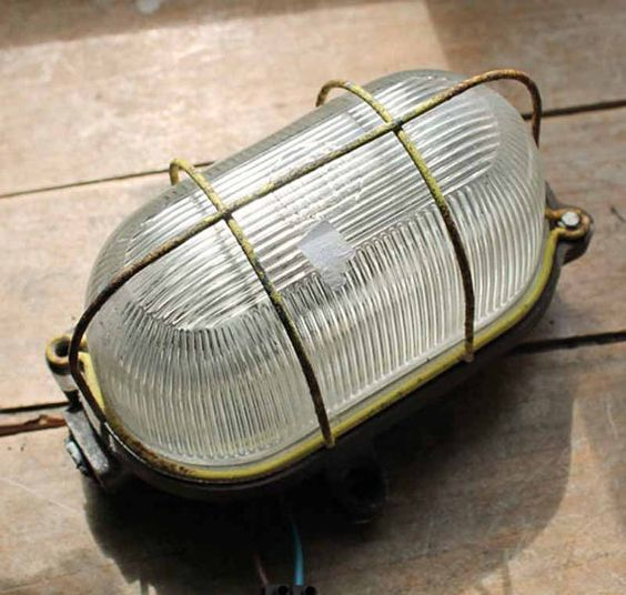 French bakelite lamp for wall. I think it was made around mid century. The cover is made of glass, base is made of bakelite(i think), the