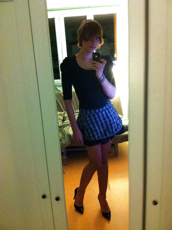 CrossDress Selfie: