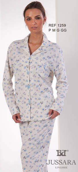 Pijama feminino Bordados Jussara 1259