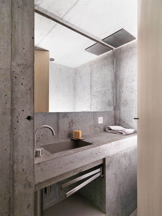 Alps, Minimalist design and Concrete walls on Pinterest