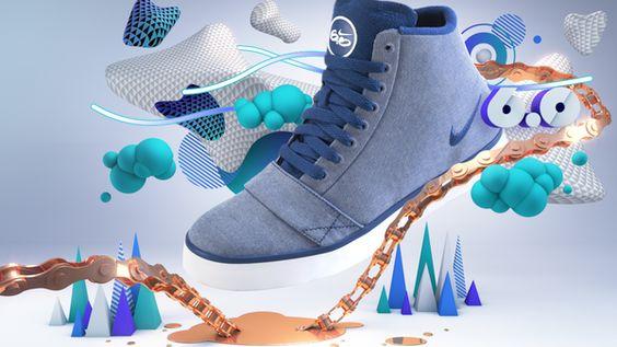 Nike 6.0 by Daniel Renda, via Behance