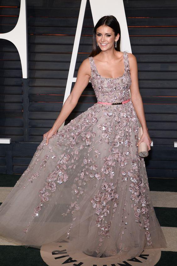 Nina Dobrev   Vanity Fair Oscar Party (2016)