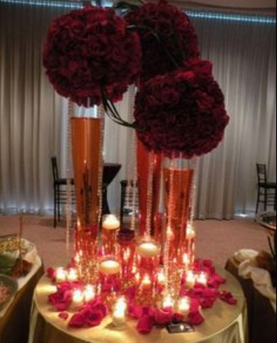 Centrepiece wedding!!! Pinterest Centerpieces