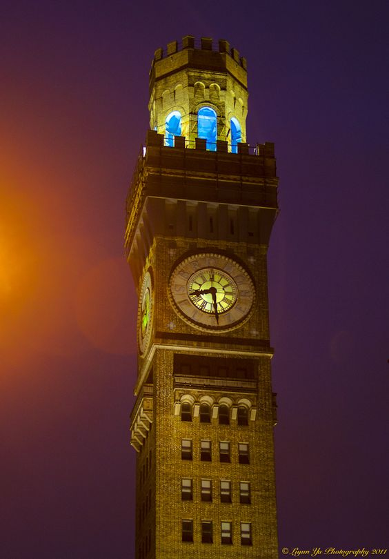 Bromoseltzer clock tower - used to have a big blue Bromoseltzer bottle on top of it!