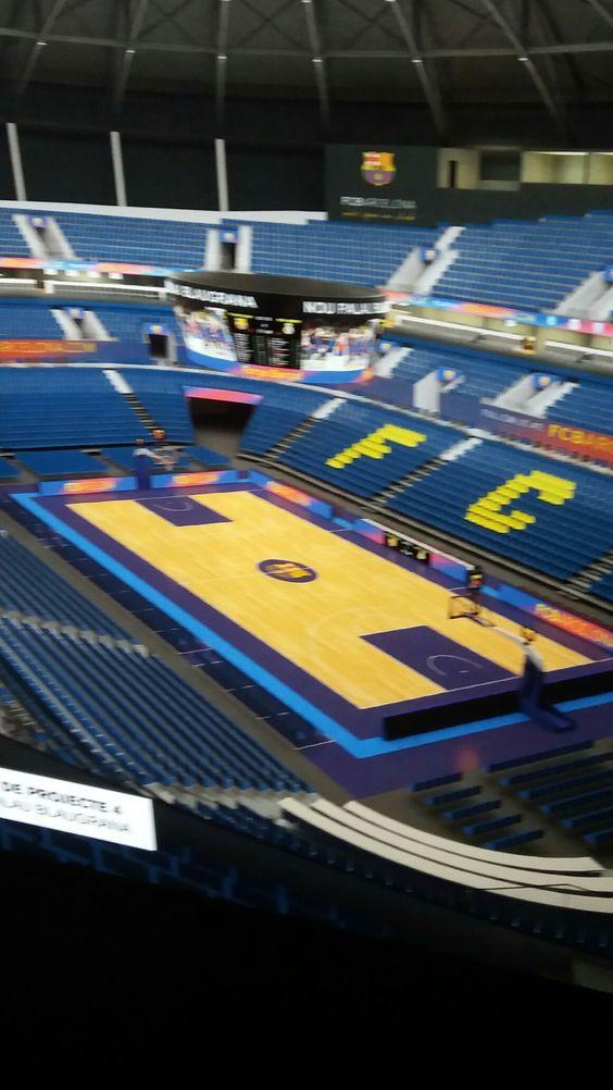 FC Barcelona Basketbalveld