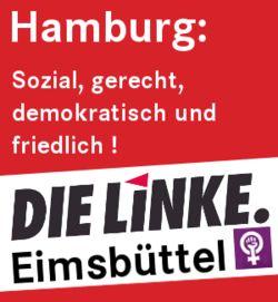 DIE LINKE. Bezirksverband Eimsbüttel: Sozial, gerecht, demokratisch und friedlich!