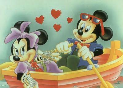 Imágenes de Amor – Un paseo de enamorados – Mickey Mouse - http://www.cristianas.com/Imagenes-de-Amor/imagenes-de-amor-un-paseo-de-enamorados-mickey-mouse.html