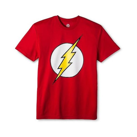 Men's Flash performance tee Red ($15) ❤ liked on Polyvore featuring men's fashion, men's clothing, red, target mens shirts, mens polyester t shirts, mens patterned t shirts, mens leopard print t shirt and mens red t shirt