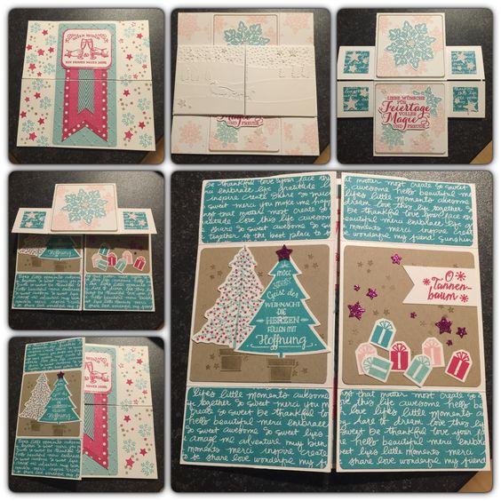 Endloskarte Weihnachten