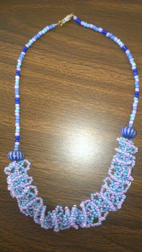 Sara's olagala lace necklace
