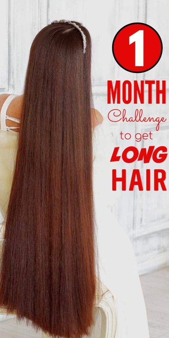 30 Day Challenge To Get Long Hair Grow Long Thick Hair Fast Long Hair Styles Long Hair Tips