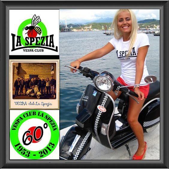 Vespa girl #italia #scooter