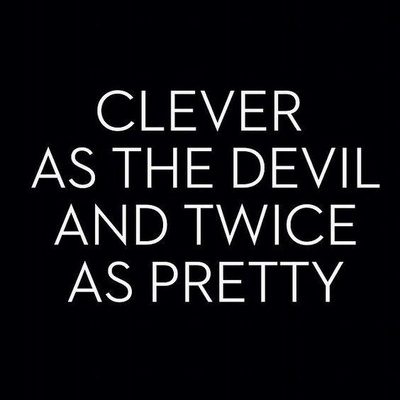 Halloween devil captions