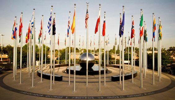 George L. Argyros Global Citizens Plaza at Chapman University